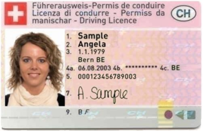 Busmiete: Driver licence